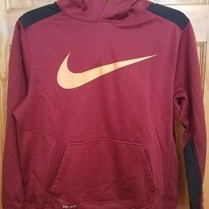 NWOT Nike Dri-fit hooded sweatshirt.